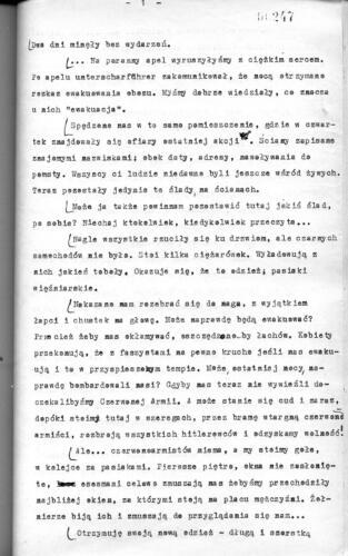 Relacja Maria Rolnikajtie