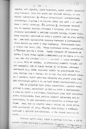Relacja Jan Strycharczyk
